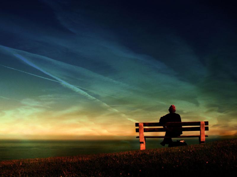 solidão e estoicismo