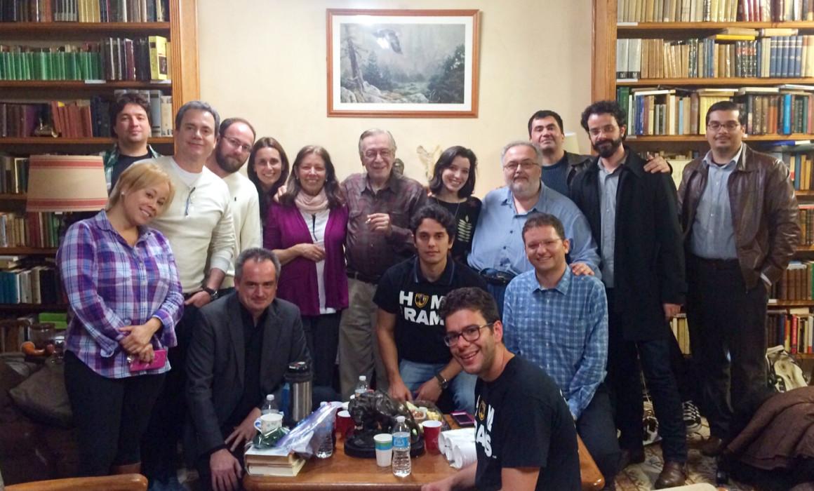 foto geral dos participantes do encontro