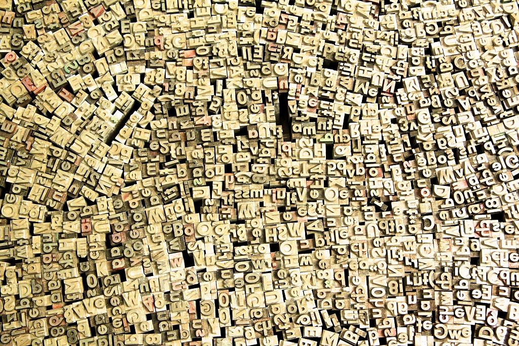O escritor e as palavras